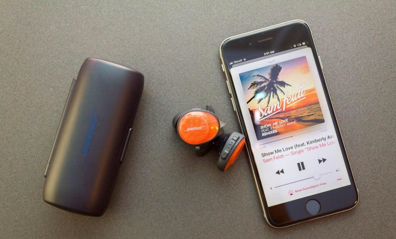 Wireless earplugs
