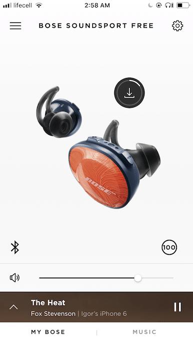 Bose wirelees Headphones