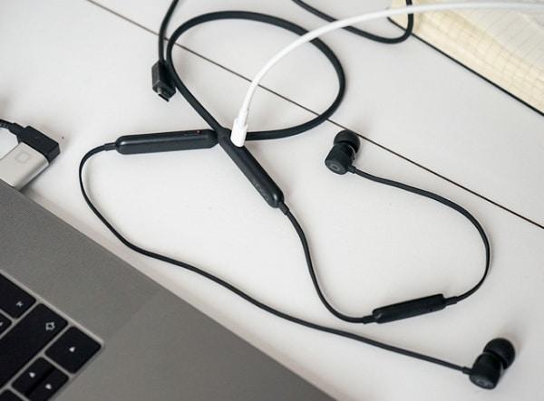 BeatsX wireless earbuds